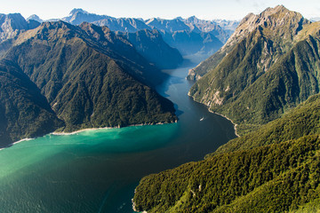 Milford Sound from above