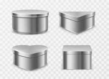 Metal Tin Boxes For Coffee, Te...