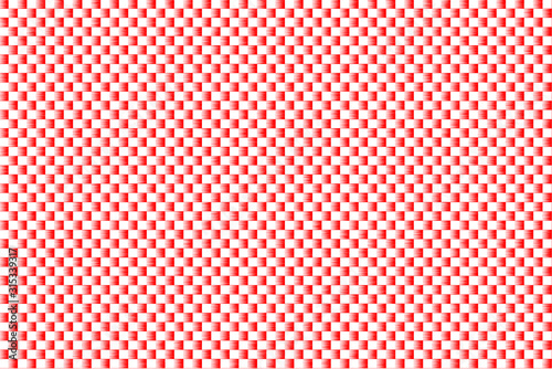 ripple Red and white color abstract background Reflector pattern texture Tablou Canvas