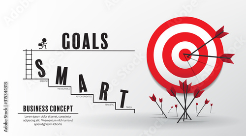 Photo 2020 new year startup and target market ideas concept  vector design