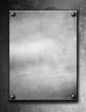 Metal Grunge Plate (industrial...