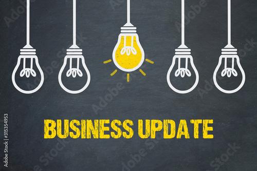 Obraz Business Update  - fototapety do salonu