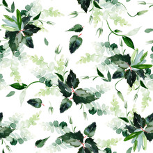 Seamless Watercolor Pattern Wi...