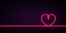 Valentine's Background With Ne...
