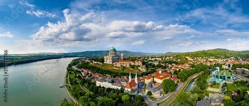 Fototapeta Beautiful city, Esztergom, Hungary obraz na płótnie