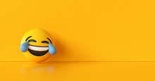 Happy And Crying Emoticon Back...