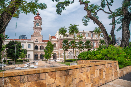 The Sultan Abdul Samad building is located in front of the Merdeka Square in Jal Wallpaper Mural