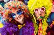 Leinwanddruck Bild - Karneval Party