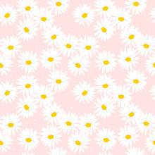 Sweet Daisy Seamless Pattern