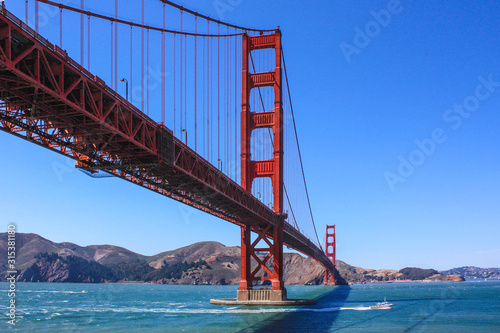 Photo  Golden gate bridge in San Francisco
