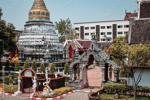 Photo Templo budista tailandés