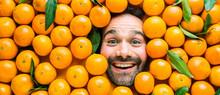 Man With Ripe Oranges, Concept...