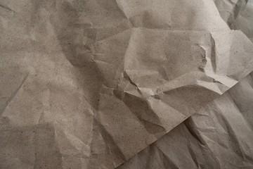 brown kraft paper texture background old two parts eco reused