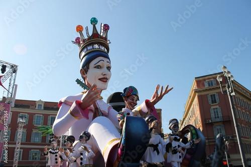carnaval Nice 3 Fototapet