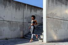 Athletic African American Fema...