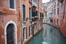 Waterway And Ancient Buildings...