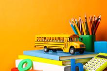 School Bus Model And Stationer...