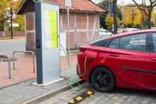 Germany, Electric Car Recharging