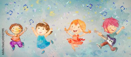 impreza-taneczna-dla-dzieci-baner-akwarela