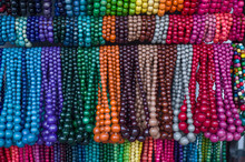 Many Colorful Wooden Jewelry W...