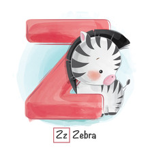 Animal Alphabet Z