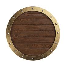 Medieval Knightly Round Shield...