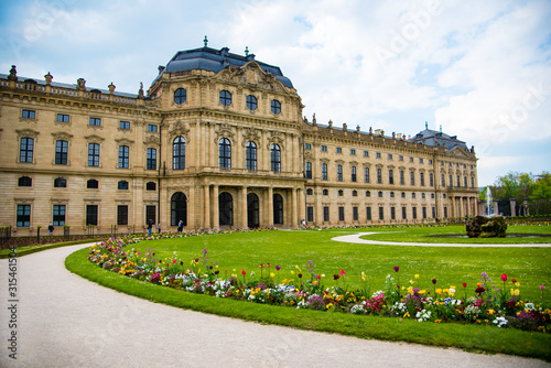 Fotografering WURZBURG, GERMANY - MAY 5: The Wurzburg Residence in Wurzburg, Germany on may 05, 2016