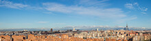 Skyline Of The City Of Madrid,...