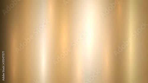 Obraz na płótnie Smooth shiny gold background, golden gradient