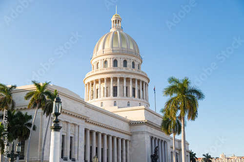 Fotografie, Tablou  Capitol Building in Havana. The Capitol in La Habana Vieja, Cuba