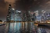 Fototapeta Londyn - Singapore Downtown