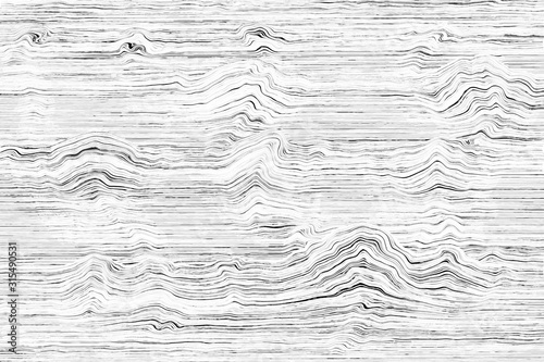 Soundwave Illustration Concept Canvas Print