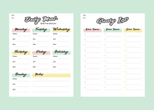 Meal Menu Planner And Shopping...
