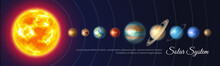 Colorful Solar System With Nin...