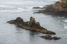 Patterned Rock Outcropping Fro...