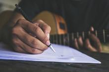 Artist Songwriter Thinking Wri...