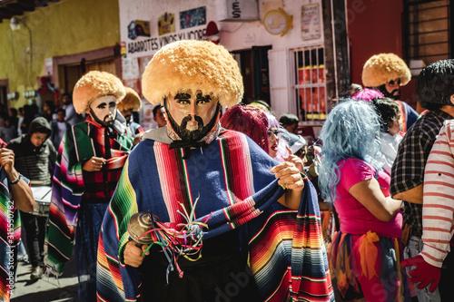 Los Parachicos, Chiapa de Corzo, Meixo
