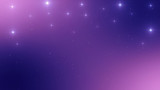 Abstract night stars background. Kawaii holographic sparkles mesh universe banner princess gradient pastel colors