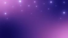 Abstract Night Stars Backgroun...