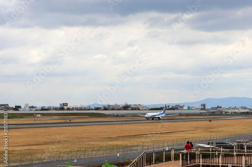 Photo 空港の滑走路