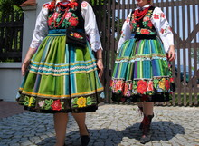 Two Polish Girls In Traditiona...