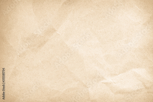 Obraz Brown color texture pattern abstract background can be use as wall paper screen cover page or for work sheet season paperwork or Christmas festival card backdrop and wrinkle have copy space for text. - fototapety do salonu