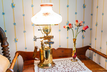 Bedside Nightstand Table With ...