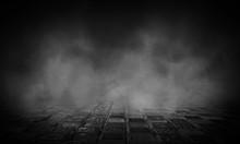 Dark Street, Wet Asphalt, Refl...