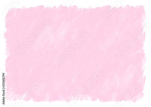 Obraz ピンク色の水彩絵の具塗った色斑テクスチャ - fototapety do salonu