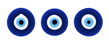 Set Of Evil Eye Protection Signs.