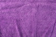 canvas print picture - Clean, new purple microfiber cloth background and texture