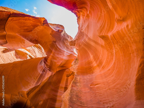 Photo  Antelope Canyon is the most photographed slot canyon in the American Southwest