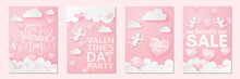 Happy Valentine's Day Card Set...