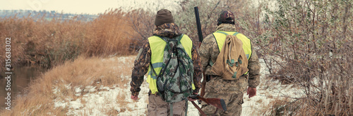 Fotografie, Tablou Hunting period, autumn season open